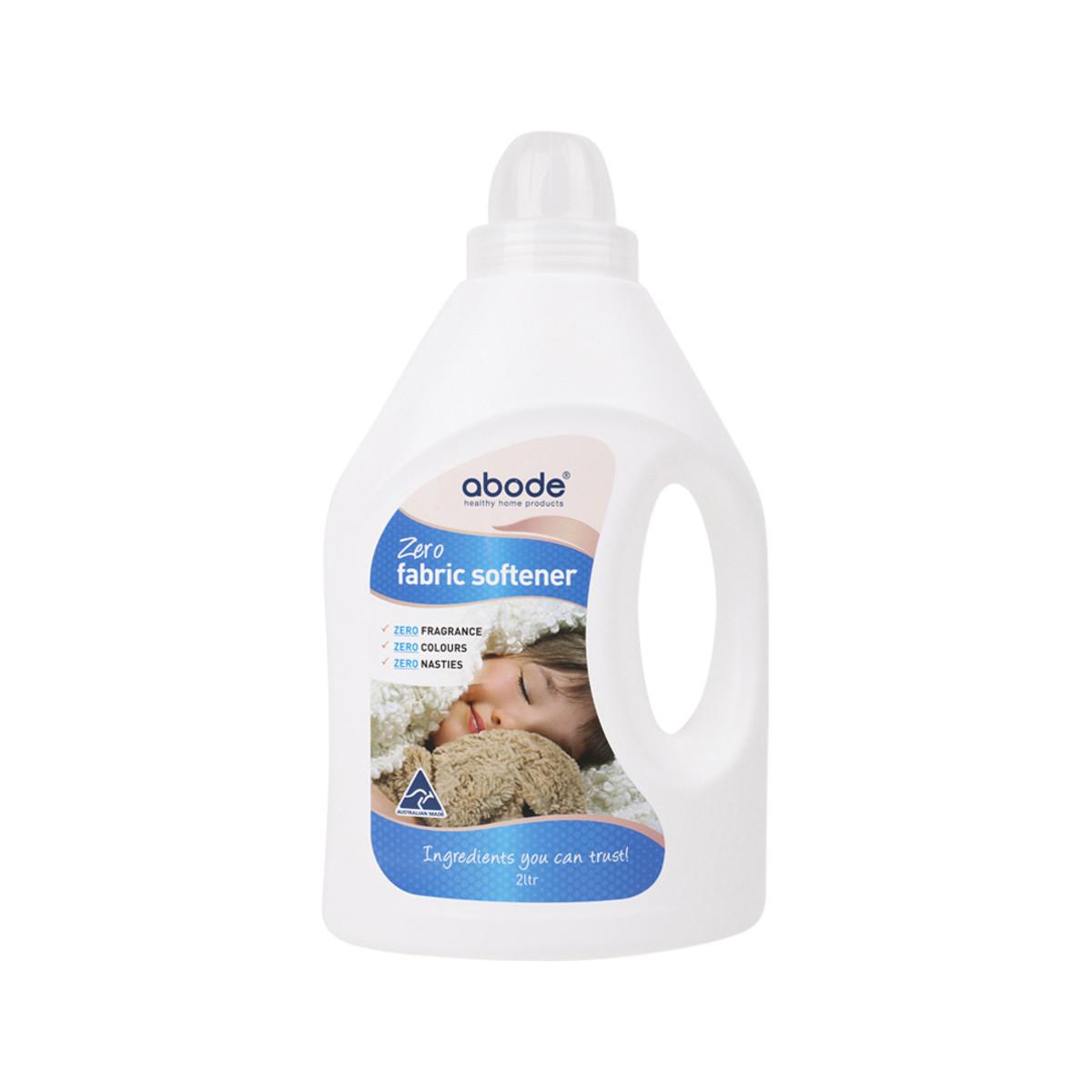 Abode Fabric Softener (Front & Top Loader) Zero 2L - Vegan Co